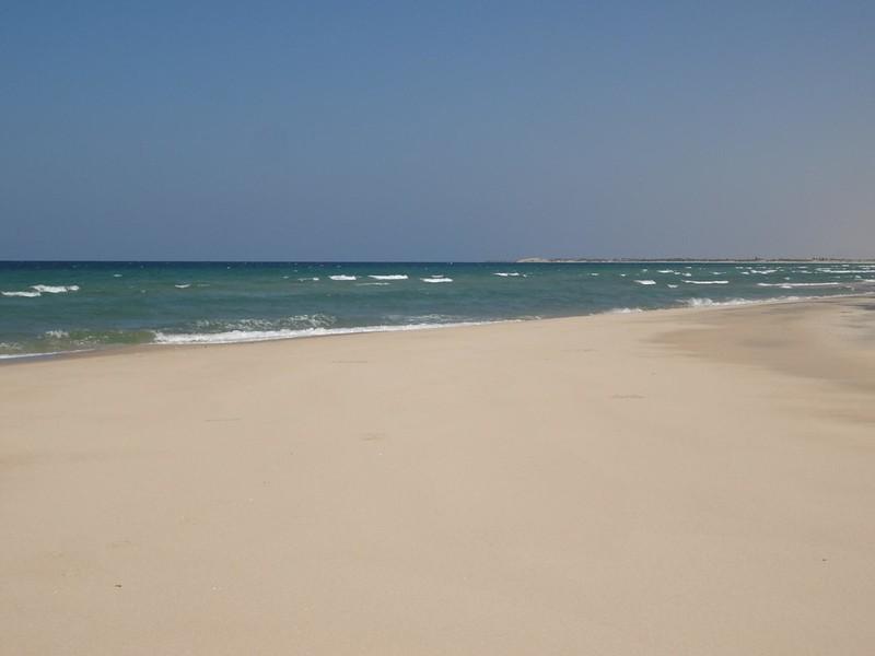 Praia de Baathela em Berbera