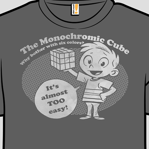 Monocrhomic is a word by Ape Lad
