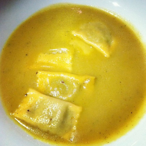 Oxtail Agnolotti by Omar Powell