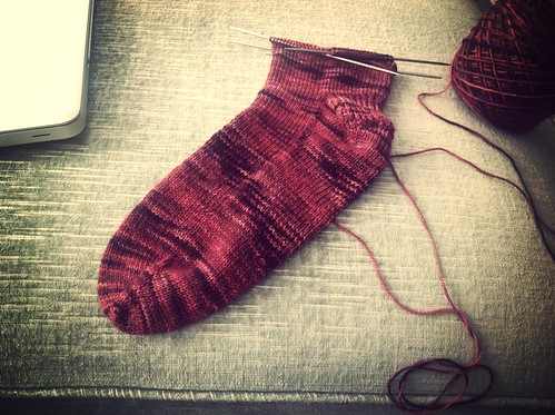 Pretty plain Jane socks by gradschoolknitter