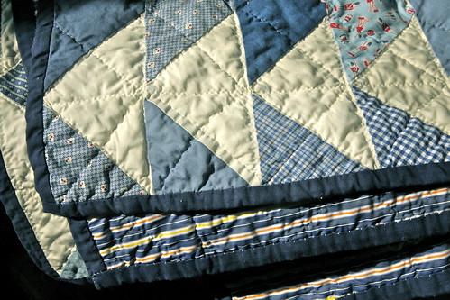 Joe's quilt!