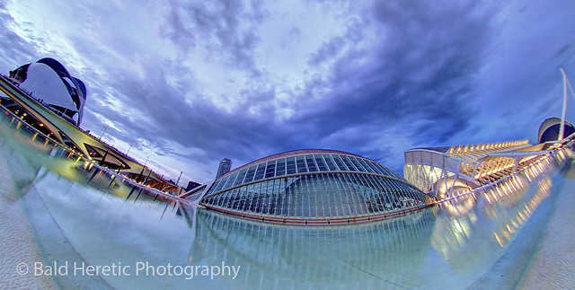 City Of Arts And Sciences - Fisheye