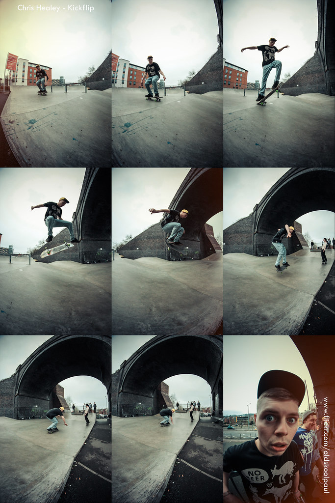Chris Healey - Kickflip - @ High Wycombe - March 2013 - Sequence