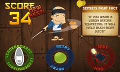 Fruit Ninja WP8