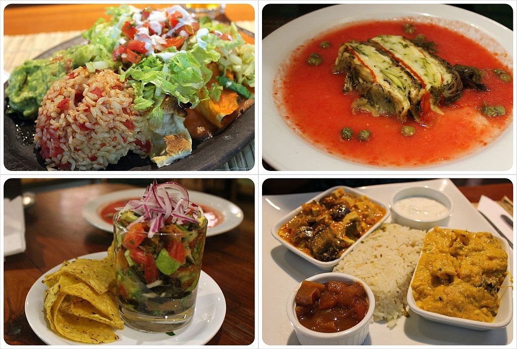 El Huerto Restaurant in Santiago De Chile