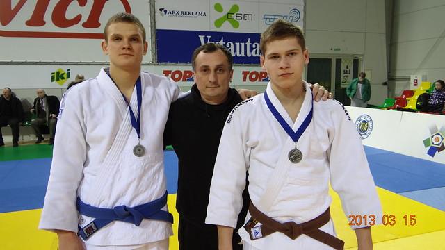 Iš kairės Ramūnas Diburys, Antanas Kasteckas ir Lukas Čiuželis