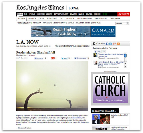 A Southern California Moment ... Los Angeles Times