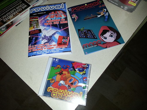 Revival Chase plus extras for the NEC TurboGrafx-16 Super CD.