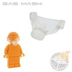 Gas Mask - Trans Clear