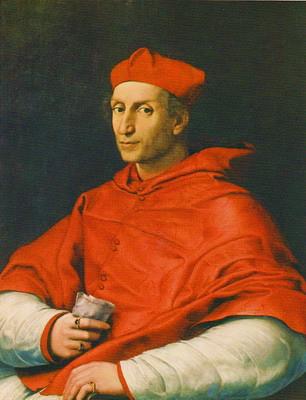 べルナルド・ドヴィーツィ枢機卿の肖像