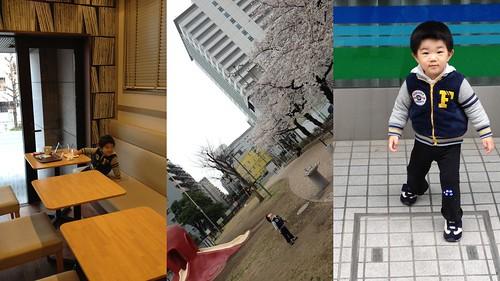 朝の散歩 2013/2/24