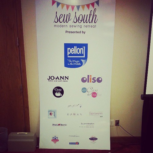 Thank you so much #sewsouth sponsors!!! @pellonprojects  @joann_stores   @dritz_sewing   @oliso. @purseframes  @freespiritfabrics @westminsterfibers @fabricworm @artgalleryfabrics @studiocherie @fatquartershop @windhamfabrics.
