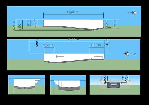 piscine bloc bancher beton 12m 4 2m piscines r alisations. Black Bedroom Furniture Sets. Home Design Ideas