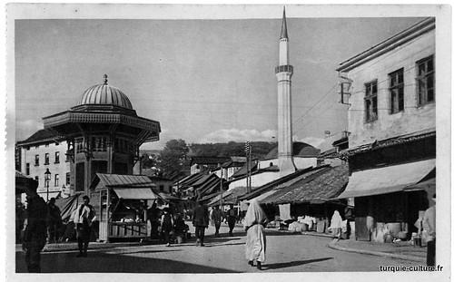 Sarajeavo, Bascarsija, années 1930