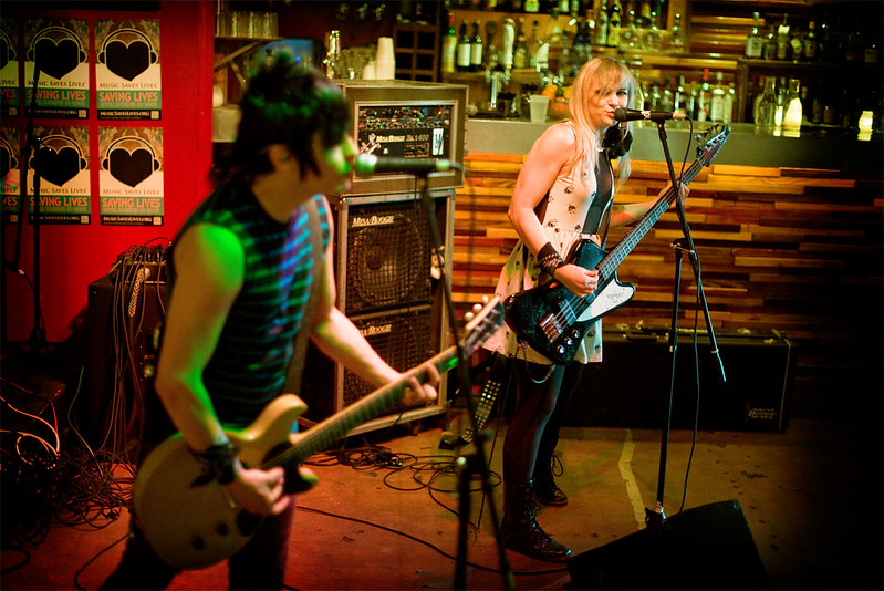 Luis and Kelly of The Dollyrots