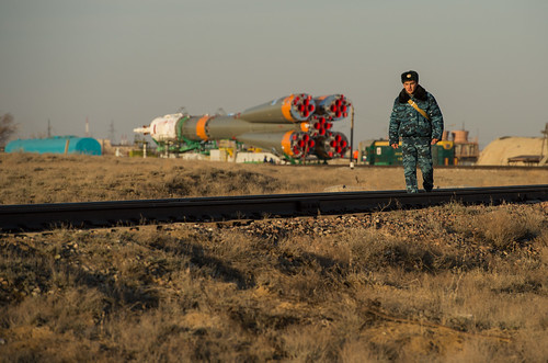 nasa kazakhstan baikonur baikonurcosmodrome carlacioffi soyuzrocket expedition35 expedition35preflight soyuztma08m