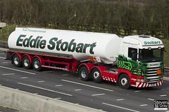 Scania R440 6x2 Tractor - PJ11 AVY - Carol Jo - Eddie Stobart - M1 J10 Luton - Steven Gray - IMG_4911