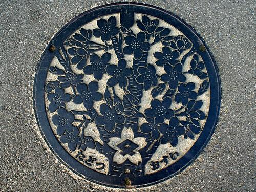 Tadotsu town Kagawa pref,manhole cover (香川県多度津町のマンホール)