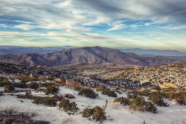 Anza-Borrego during Winter
