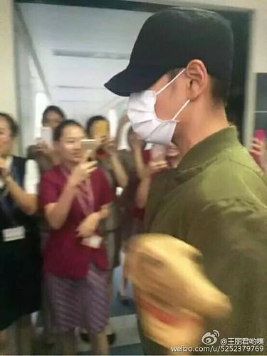 BIGBANG arrival Wuhan 2015-06-26 005