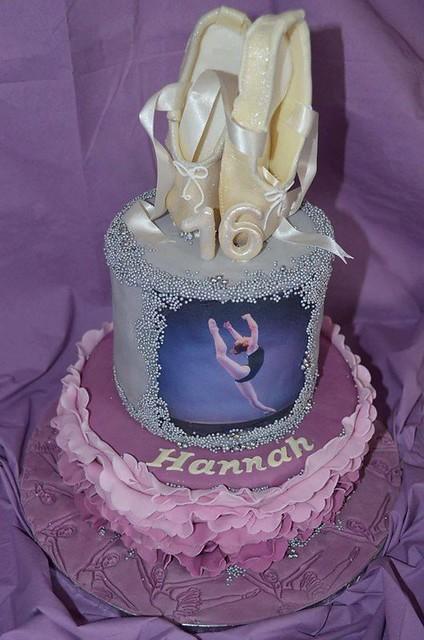 Frilled Balerina Cake by Caroline Stockwell of Caroline's Cakes