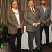 Héctor Yáñez, de Basf; Juan Patricio Ibáñez, de la UTFSM y Rodrigo Zambra, de Cytec