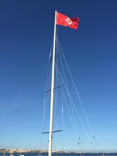 Flag in Cascais