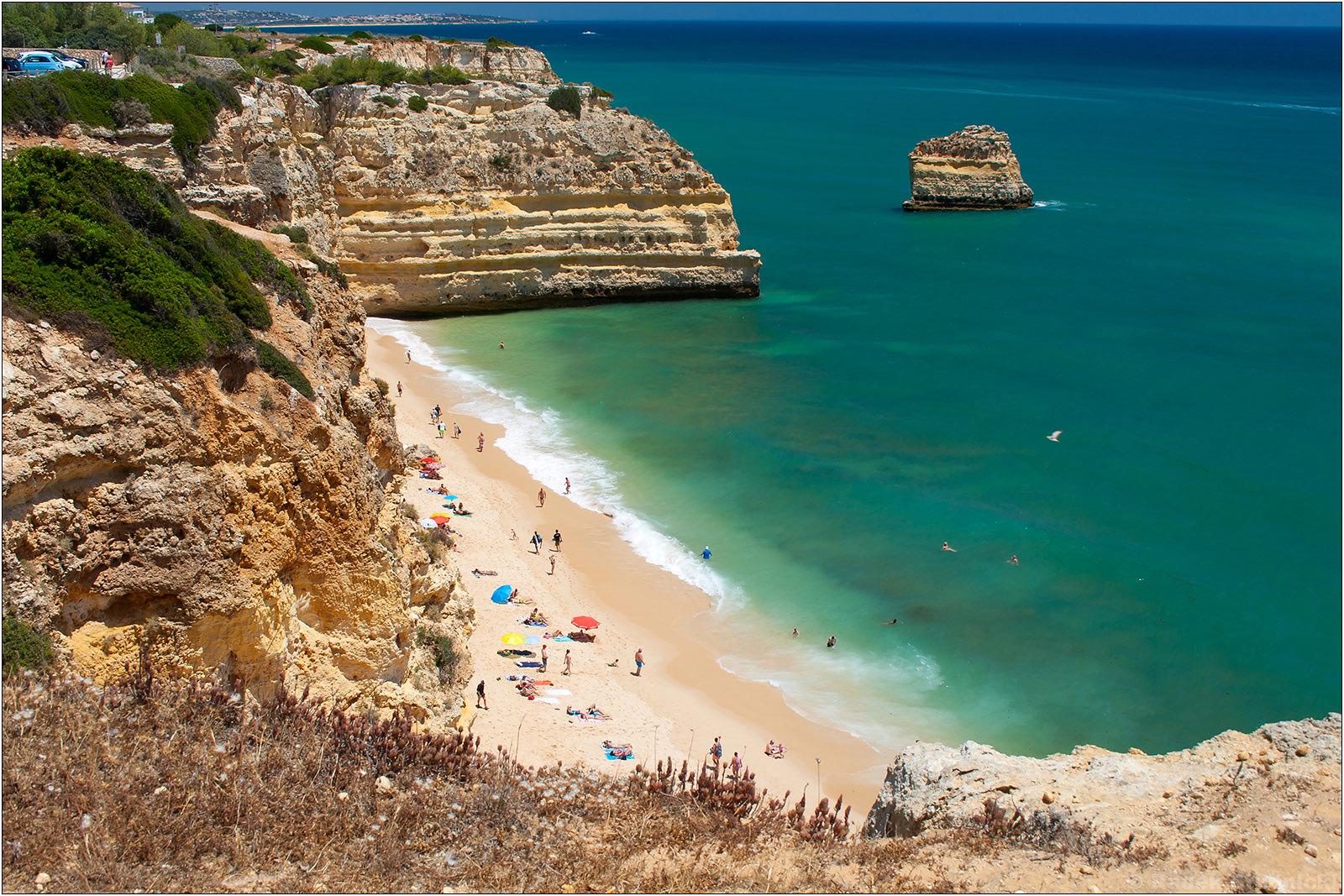 Praia da Marinha na Algarve