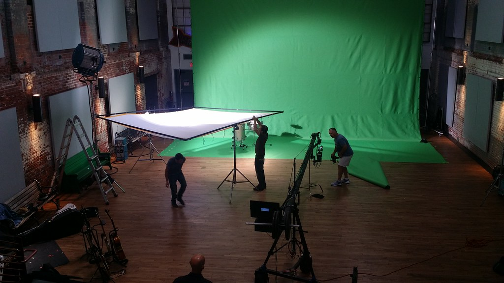 Setting Up For Music Video Shoot Haw River Ballroom Saxap