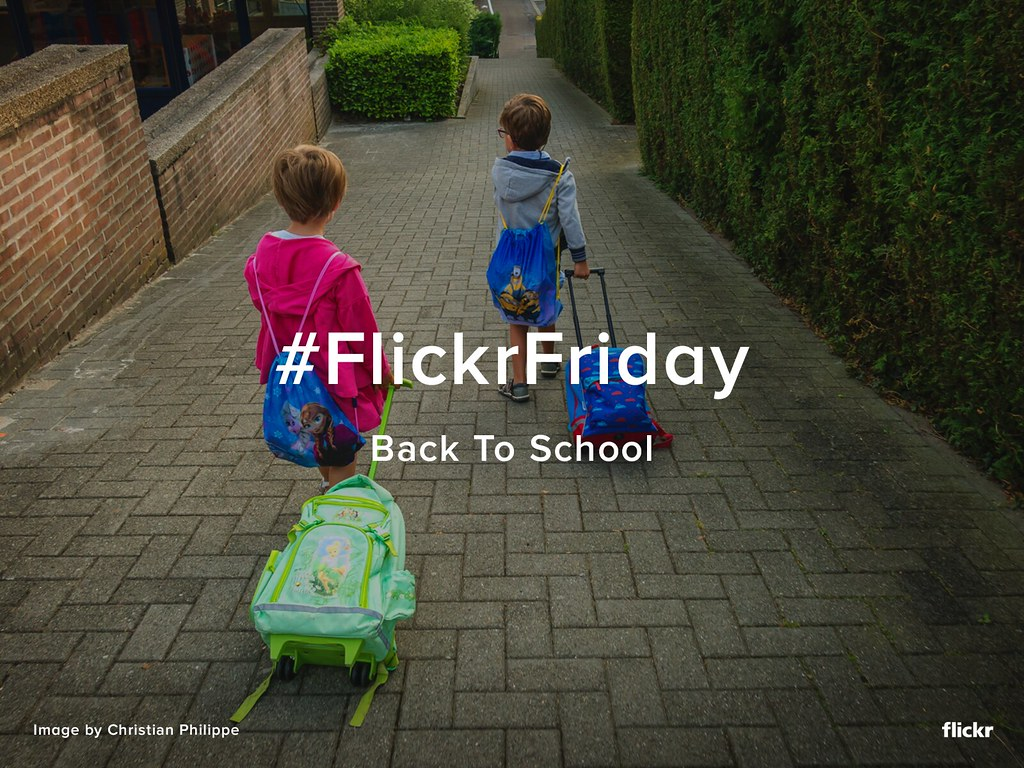 #FlickrFriday - Back To School