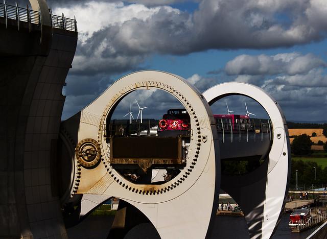 10 9 Wind farms through the Falkirk wheel