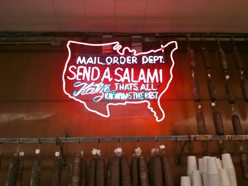 Send a Salami to Your Boy in the Army