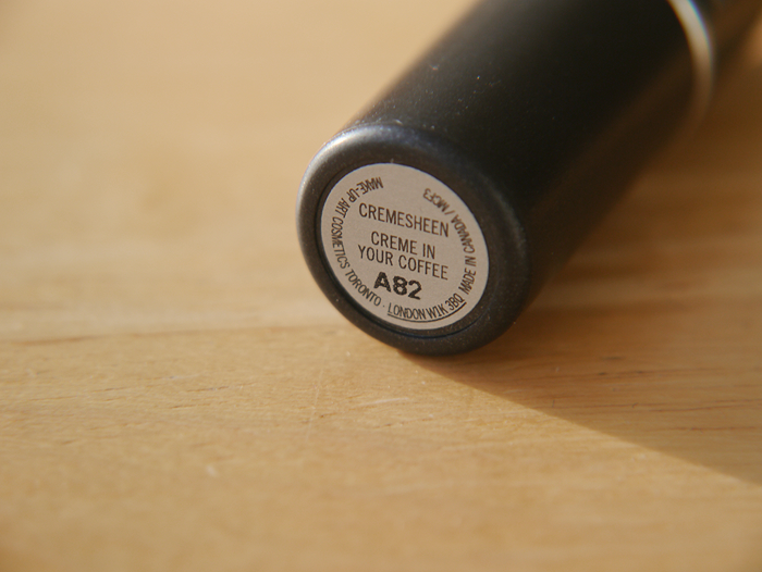 mac creme in your coffee lipstick review 3