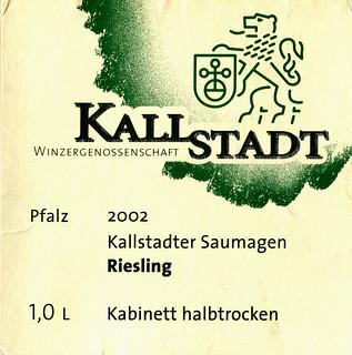 2002 - Kallstadter Saumagen