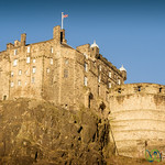 Edinburgh Castle in a Hill - Scotland