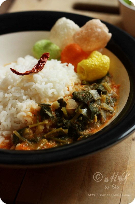 Monsoon Spice | Unveil the Magic of Spices   : Palak/Spinach Ambat