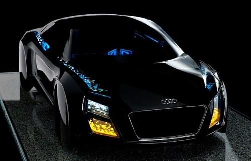 Audi представила светодиодные фары будущего на CES 2013