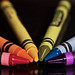 Crayon Rainbow by giantmike