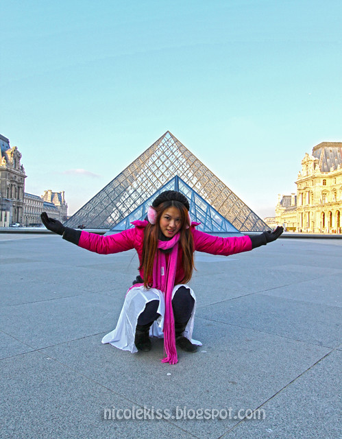 Paris The Louvre Nicolekiss