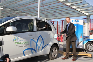 B.C. plugging in to electric vehicle fast chargers