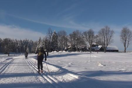 Jizerky na běžkách - videoprůvodce Malým kolečkem