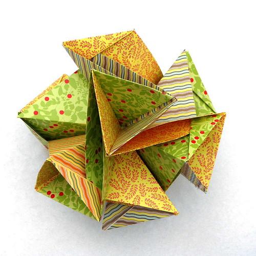 Void, Tadashi Mori, 3-fold view