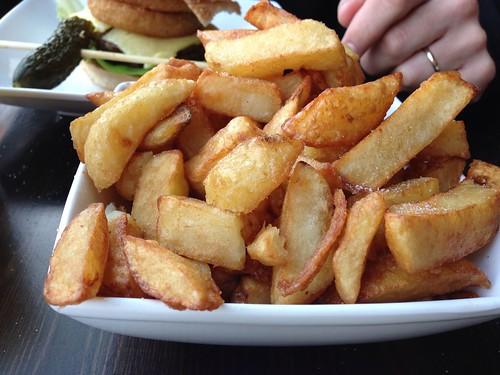 Handmade Burger Co chips