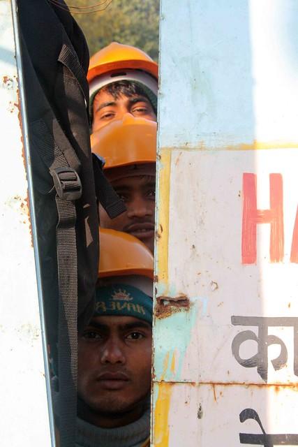 Delhi Metro – United Colors of Helmets, Janpath