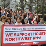 Nurses Mark Five Years of Collective Bargaining, Quality Care in TX
