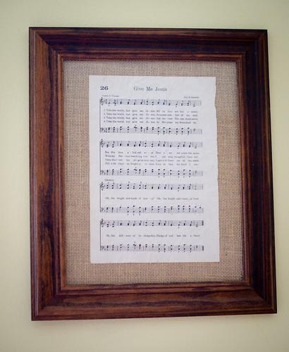 Framed Hymn