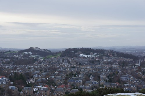Craiglockhart from Blackford Hill, Edinburgh