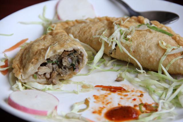 Tibetan shapale - meat pies