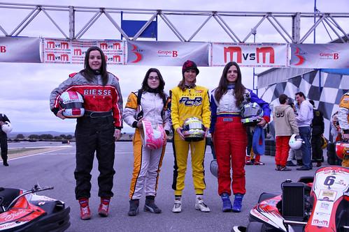 Marta Moreno Sánchez, Vanesa Garcia de Andres, Zihara Esteban y Cristina Gutiérrez Herrero.