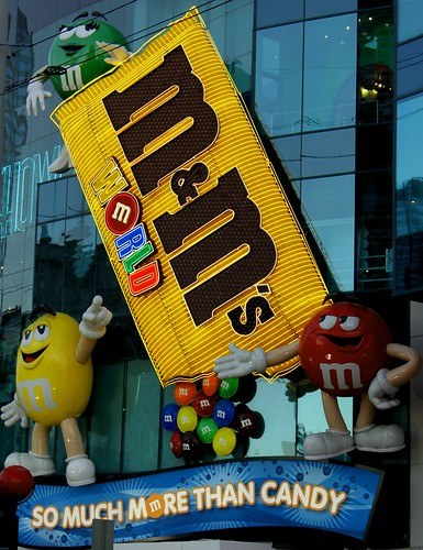 M & M  Chocolate World